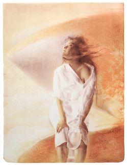 Eser Afacan - Wind, innrammet, kunst i nettgalleriet | Fineart.no