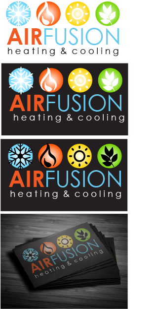 Design A Brand Image Logo Of An Heating And Cooling Business