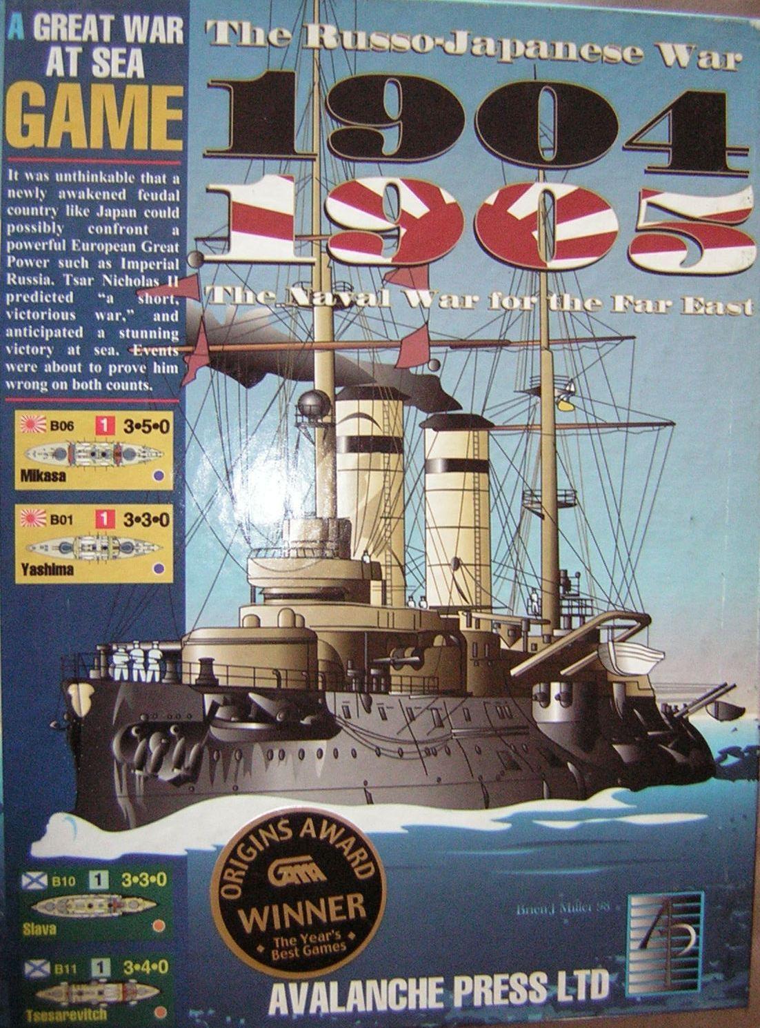 Great War at Sea 19041905, The RussoJapanese War War