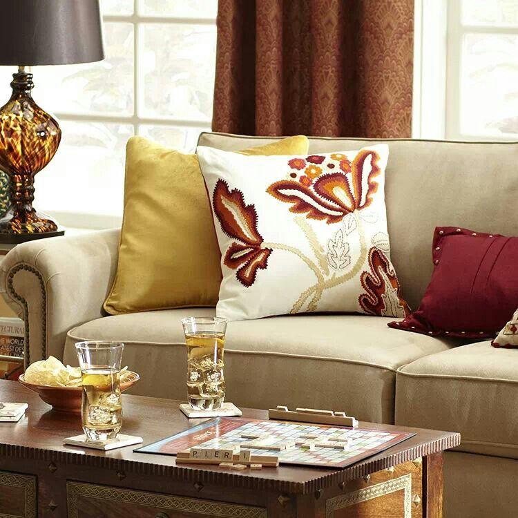 Home Decor Imports: Pier 1 Living Room Ideas, Home Decor, Pillows