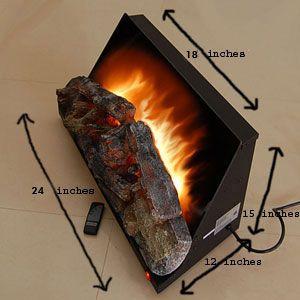 24 Arrowflame Electric Log Insert Al24n001