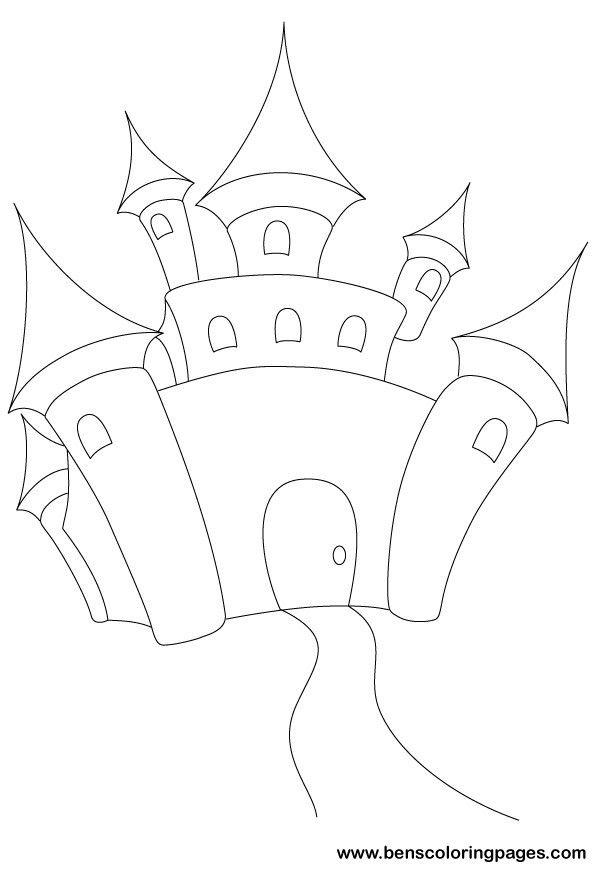 Fairy Tale Fairy Tale Castle Coloring Book Fairy Tales