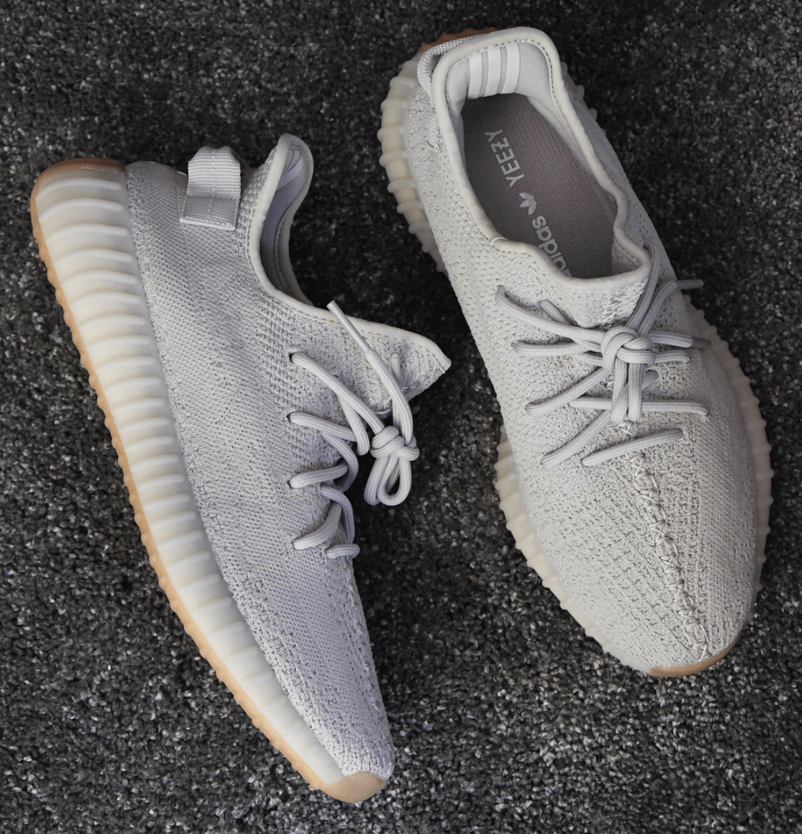 4af8bc6a Check out the adidas Yeezy Boost 350 V2 Sesame available on StockX ...