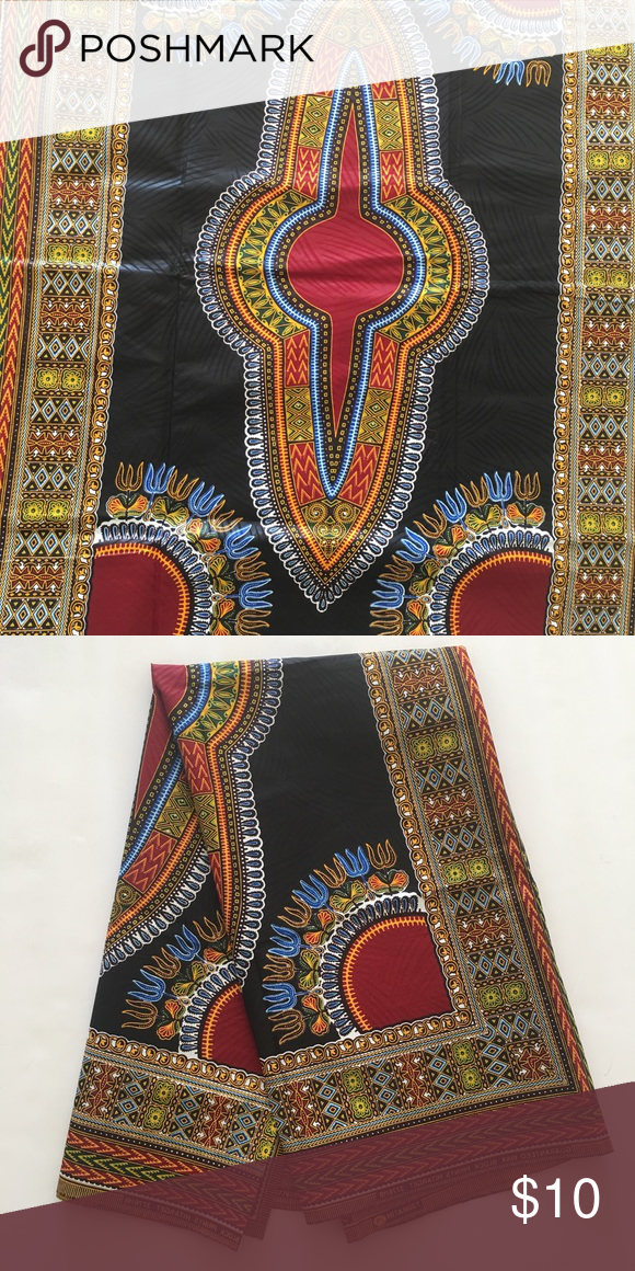 1 Yard African Print Ankara Fabric Ankara Fabric African Print Fabric