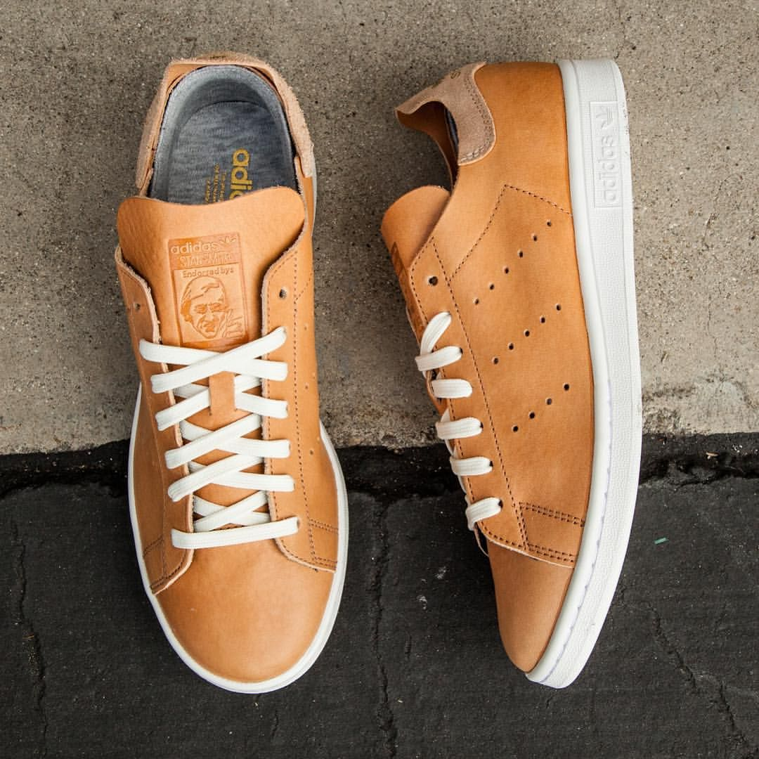 "BAIT Inc. on Instagram: ""Adidas Men's Stan Smith Low Top - Horween Leather  Pack is available at http://bit.ly/1PkLtdx in sizes 5-13 for $150. #adidas…"""