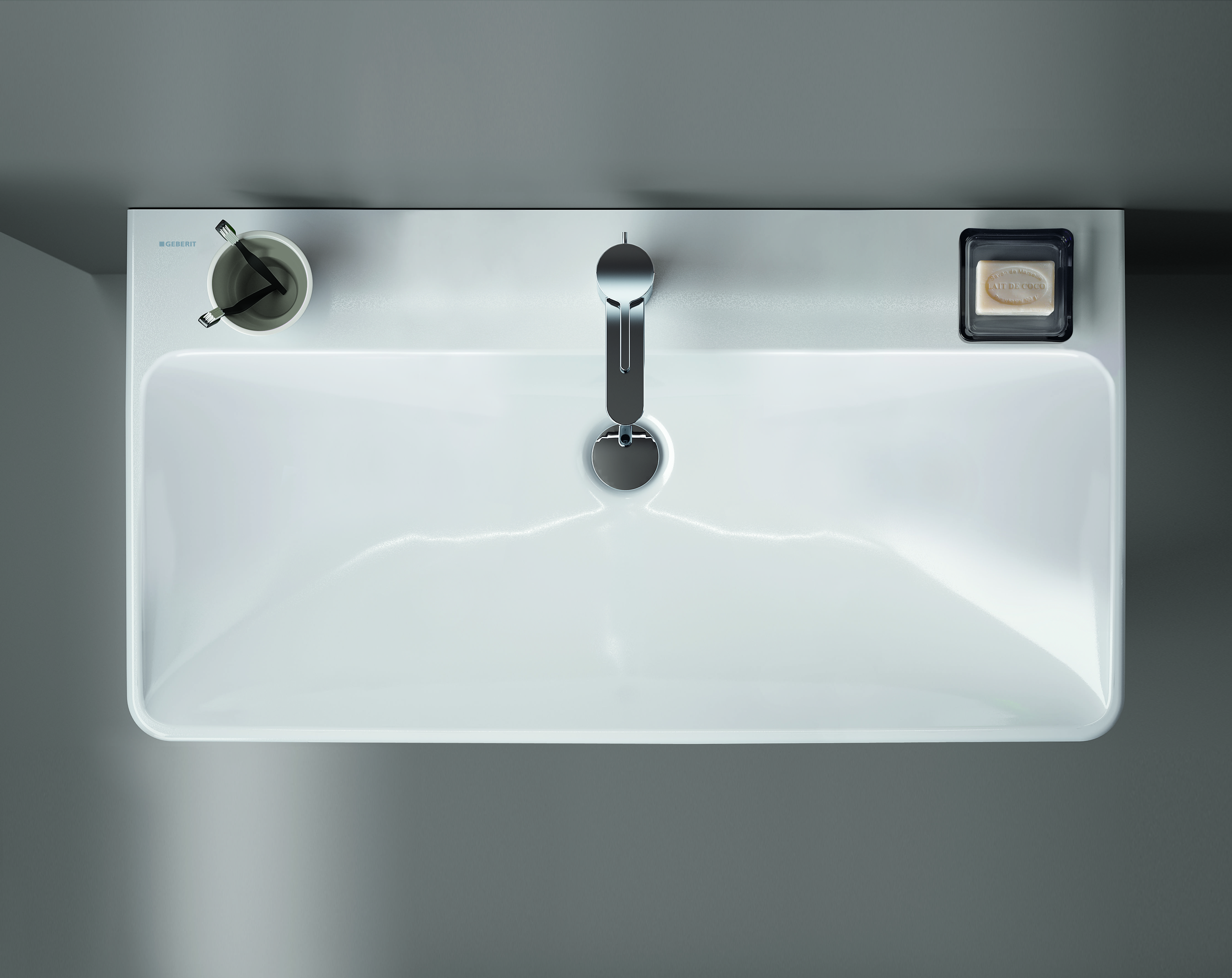 Lightweight in appearance, the Geberit Smyle series stands out in ...