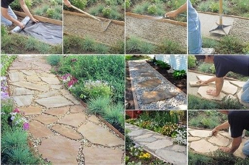 Captivating DIY Flagstone Path Having A Nice Path In Your Garden Can Make A Big  Difference. I Find These Flagstone Gardenu2026
