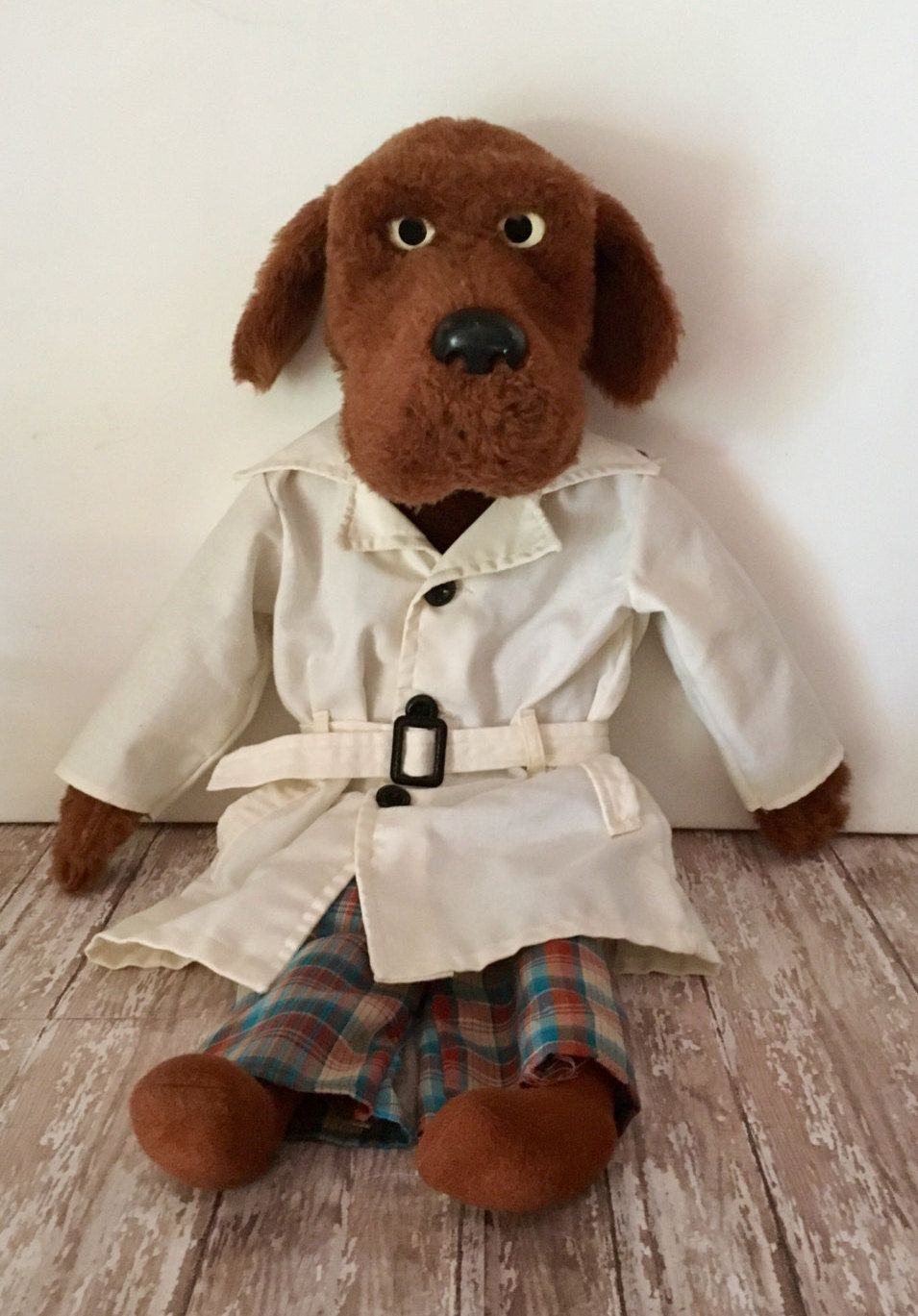 Vintage Mcgruff The Crime Dog Ventriloquist Puppet 1980 S Etsy Hand Puppets Crime Puppets