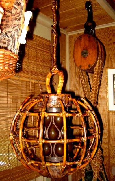 tiki lighting. Tikiskip\u0027s / Kahiki Lamp,Tiki Bar Lights, Fishing Float Light -- Tiki Central Lighting R