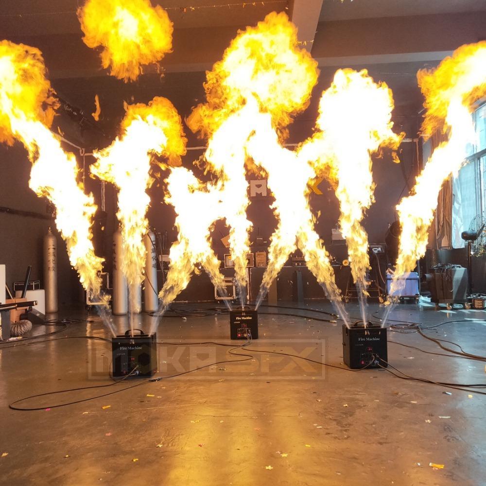 Triple Way Flame Machine Fire Machine Dmx Dj Fire Machine