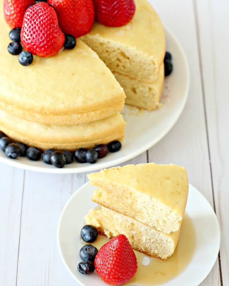 Rice Cooker Pancakes: How to Make Giant Pancakes in Your Rice Cooker #ricecookermeals