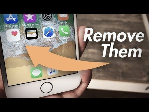 How to Hide Apps on iPhone 6 Delete Stock Apps iOS 11