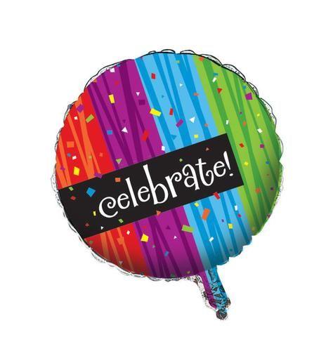 Milestone Celebrations Foil Balloon 1/pkt