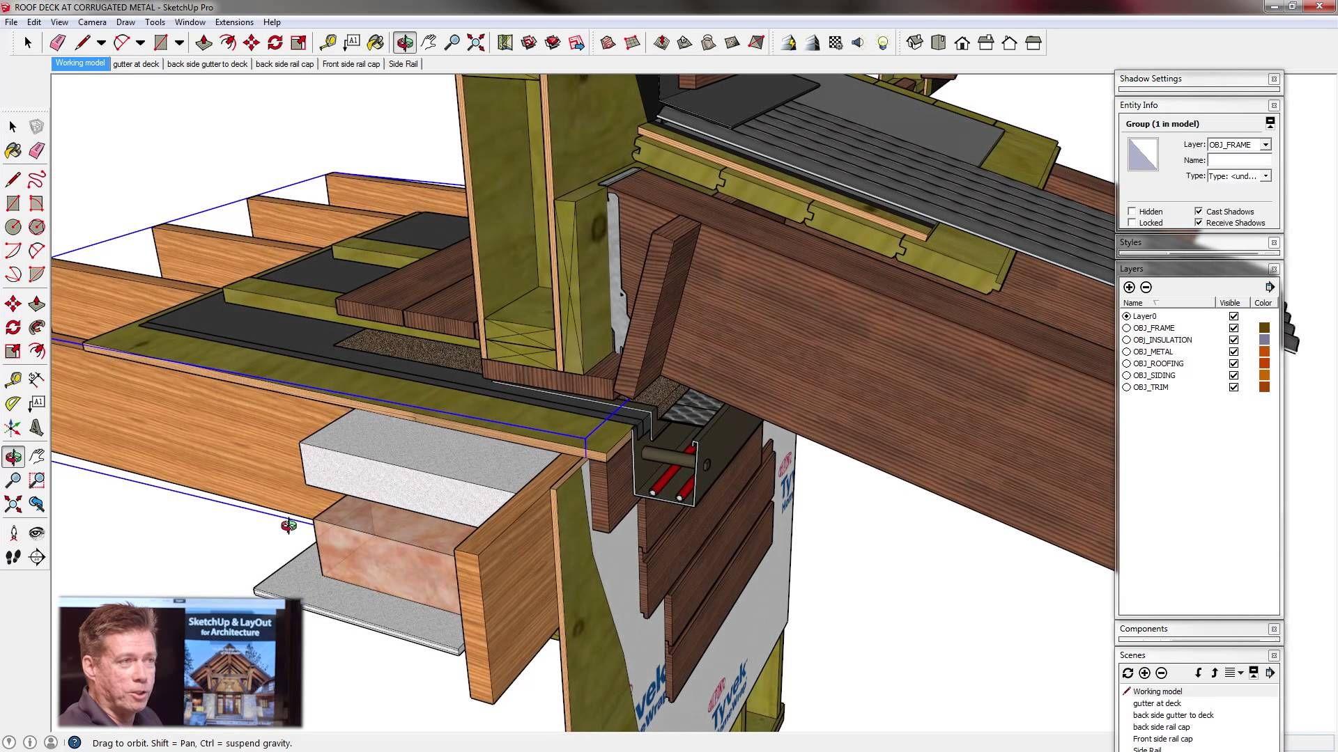 Sketchup for construction documentation details in for Sketchup design