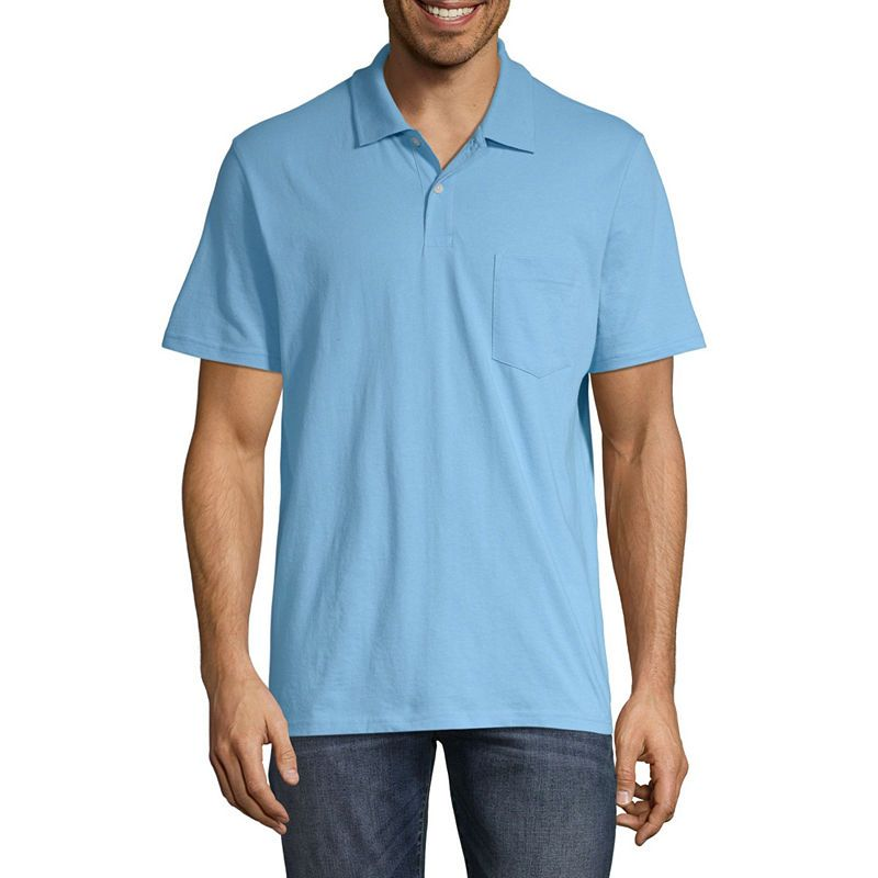 7830dc2be St. John's Bay Short Sleeve Jersey Polo Shirt | Products | Polo ...