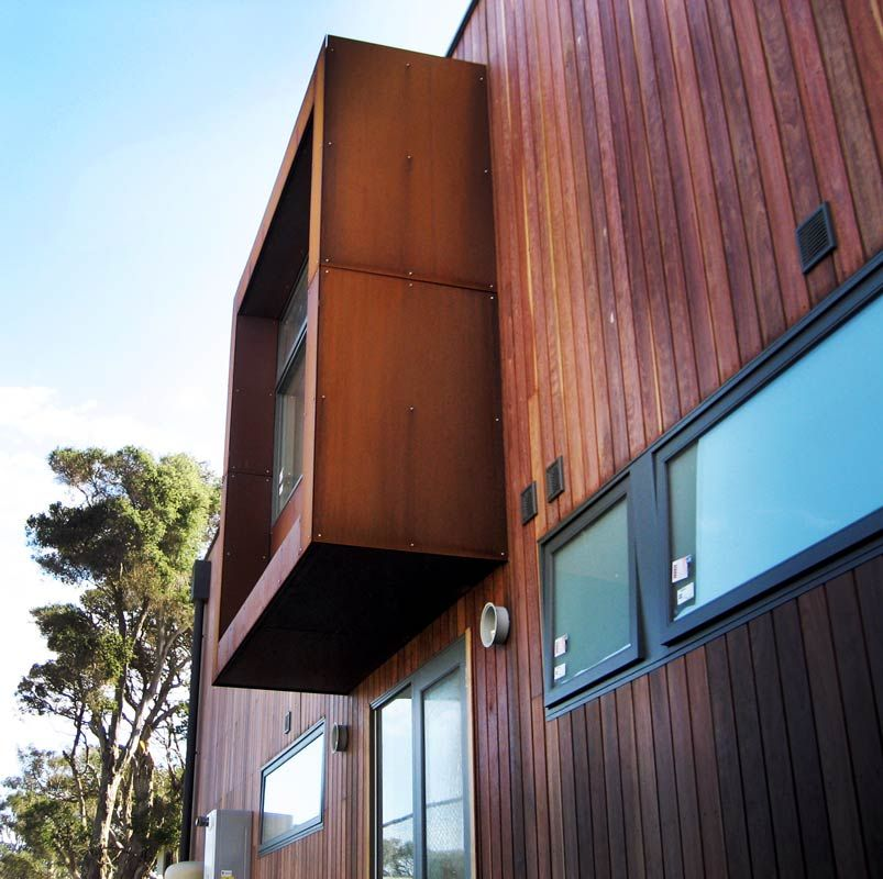 Corten Steel Panel Houses Google Search Roosevelt