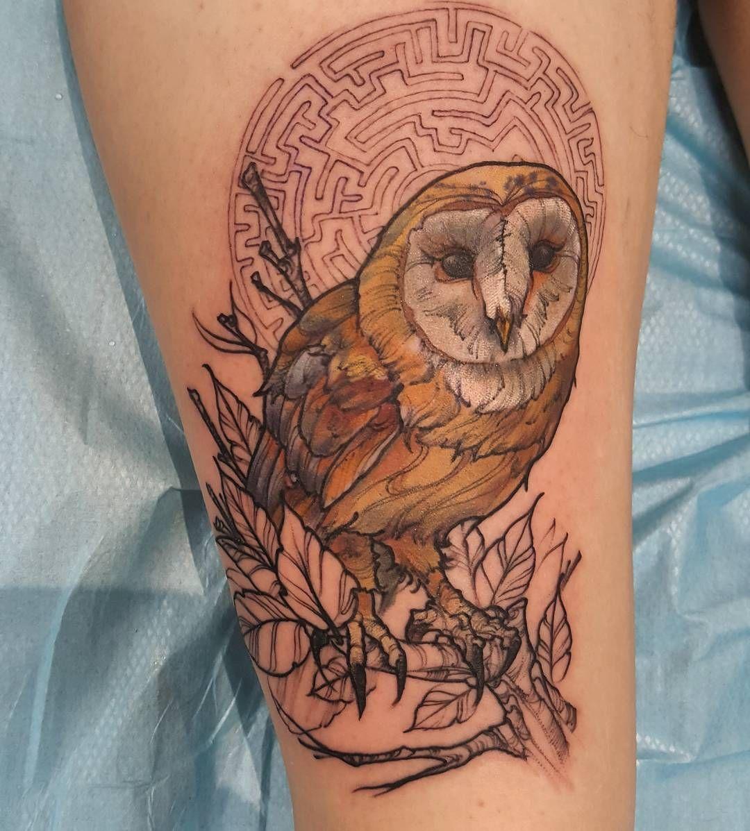 Great Horned Owl by BioWorkZ on deviantART | Owl art print, Owl tattoo  design, Owl art