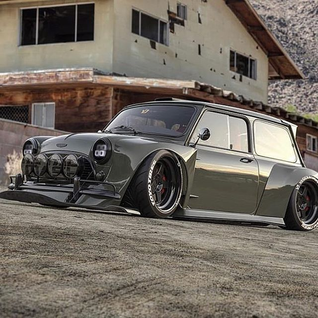 Another Mad And Wonderful Concept From Yasiddesign Read More Click Photo Classic Mini Mini Cooper Dream Cars