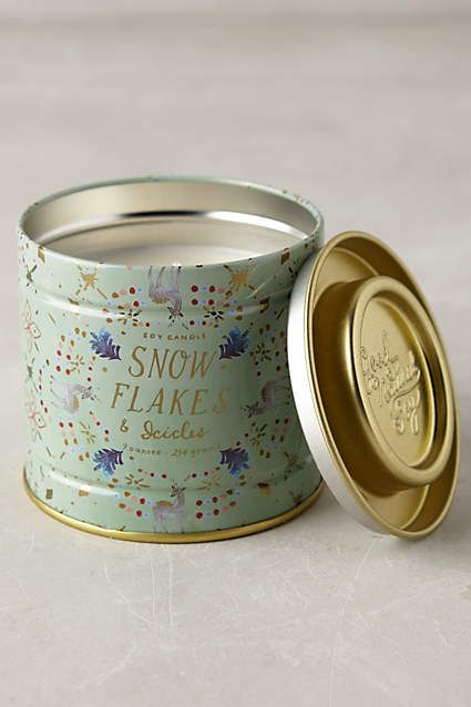 Snowflora Soy Candle - anthropologie.com