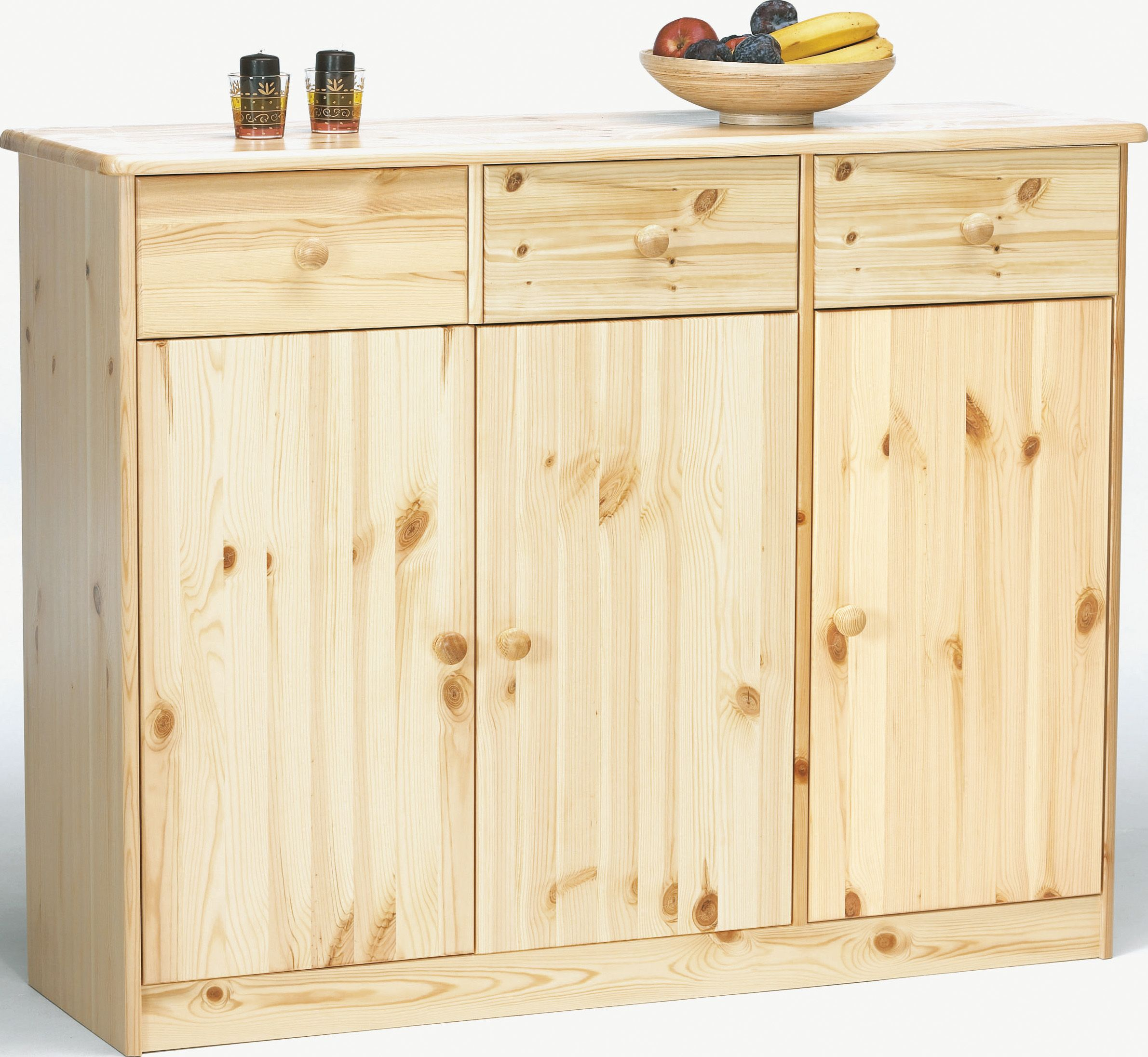 Melly Highboard Ll In 2 Farben Sideboard Kommode Schubladen