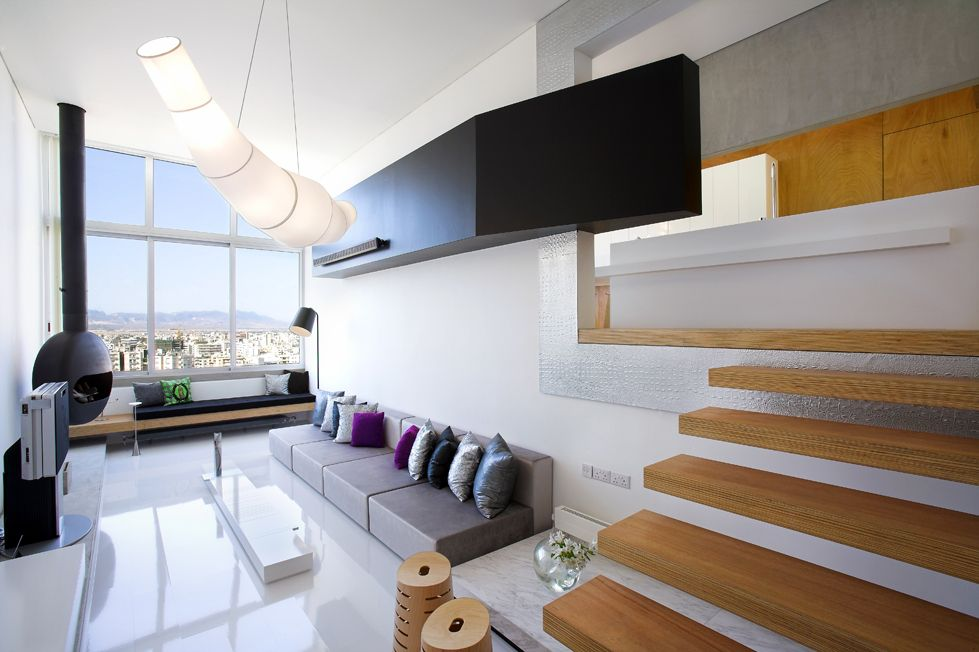 Split Level Apartment in Nicosia Cyprus by MOB Interior