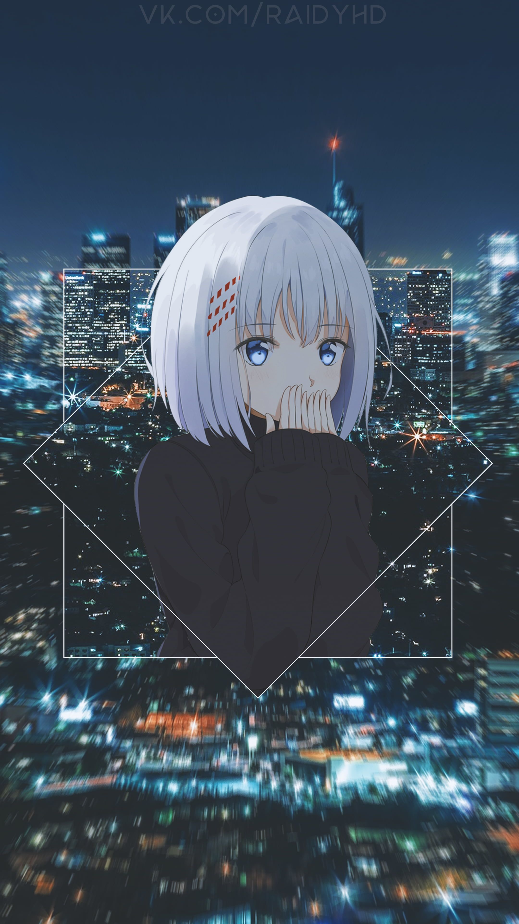 Tobiichi Origami Anime Girls Anime Picture In Picture 4k Wallpaper Hdwallpaper Desktop Anime Scenery Wallpaper Cool Anime Pictures Hd Anime Wallpapers