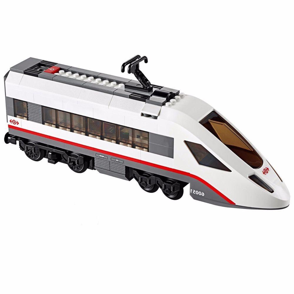 Lego City 60051 High Speed Passenger Train Rear Car Only New Complete Legos Lego City Lego Passenger
