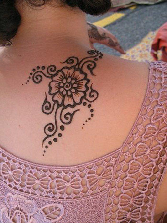 Henna Tattoo - uralte Kunst zur temporären Hautverzierung ...