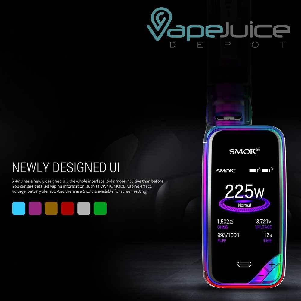 0ceab68d573 SMOK X-PRIV 220W Mod Kit has been developed to integrate some of SMOKTech s  most