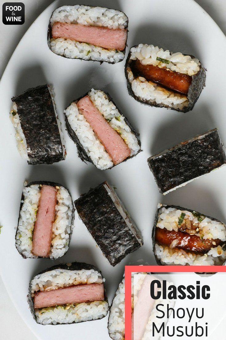 Classic Shoyu Musubi Recipe Recipe Musubi Recipe Food Recipes