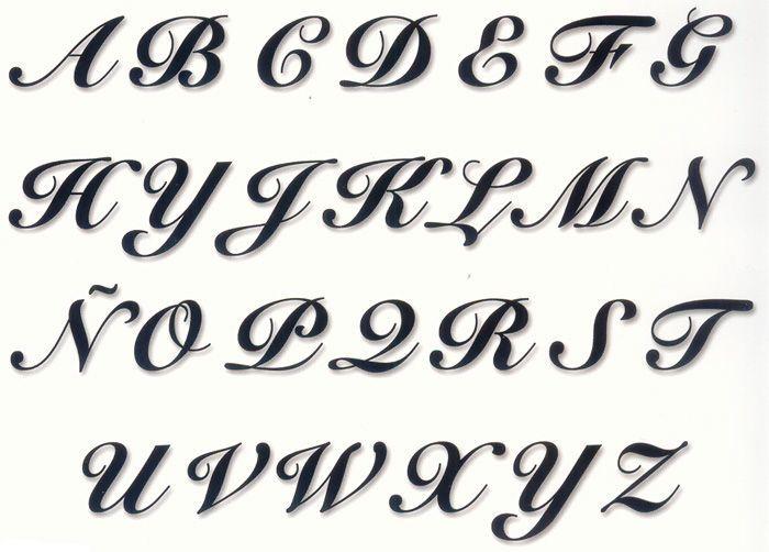 Letras bonitas manuscritas pesquisa google letras bonitas pinterest letras bonitas y google - Literas bonitas ...