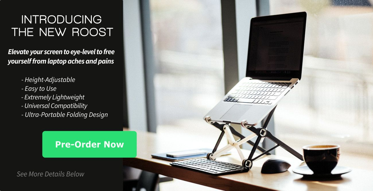 The Roost Portable Laptop Stand Idea