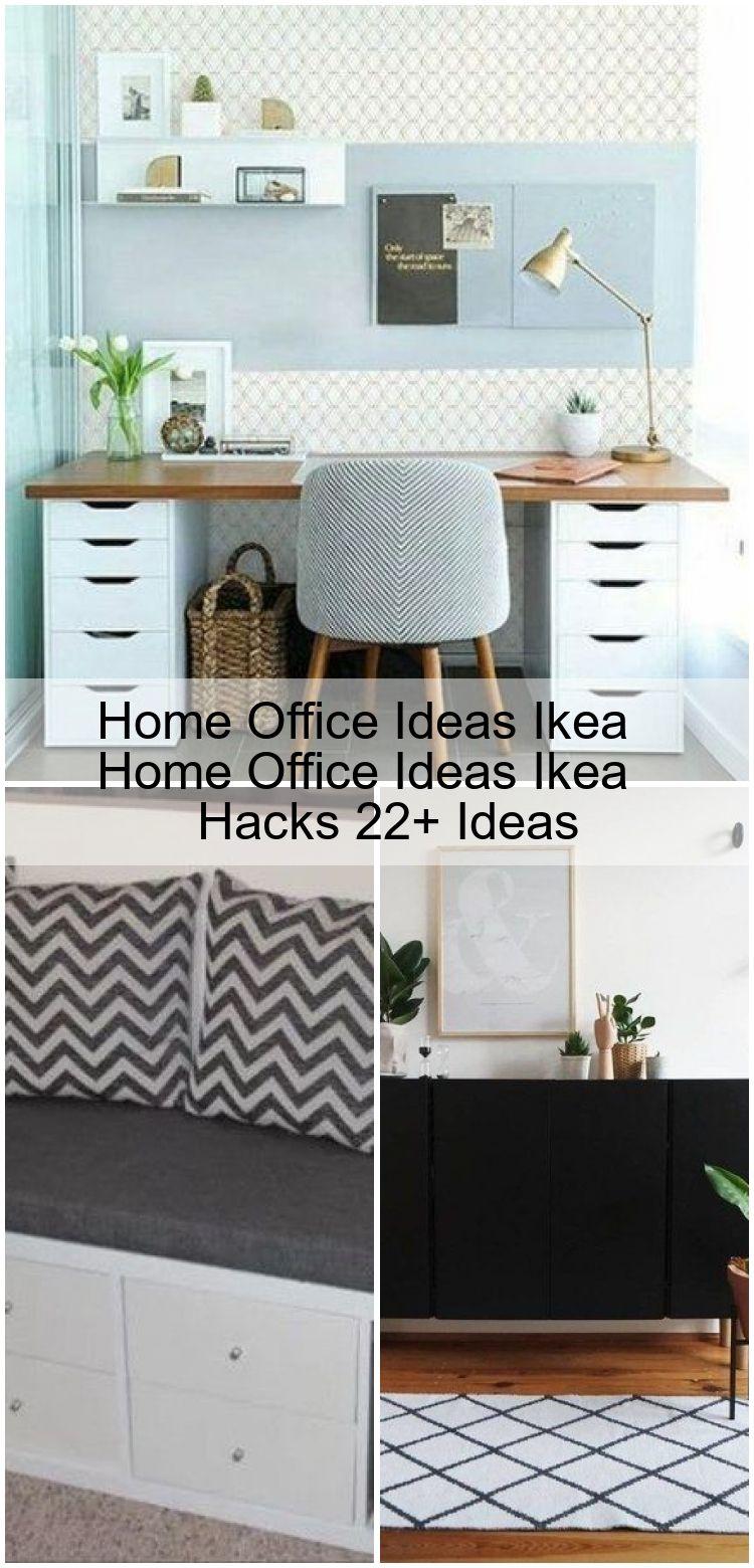 Home-Office-Ideen Ikea Home-Office-Ideen Ikea Hacks 21+ Ideen