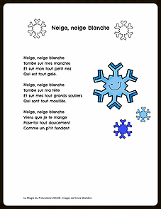 parole chanson neige