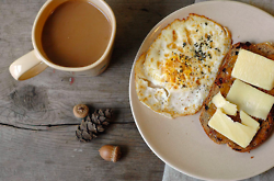 toast with egg