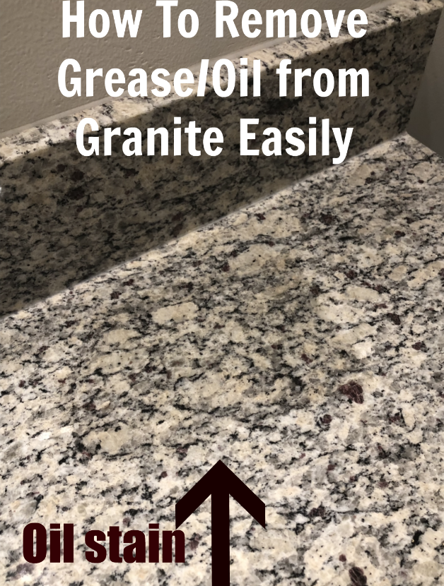 How To Remove Grease Or Oil From Granite How To Clean Granite Granite Deep Cleaning Tips
