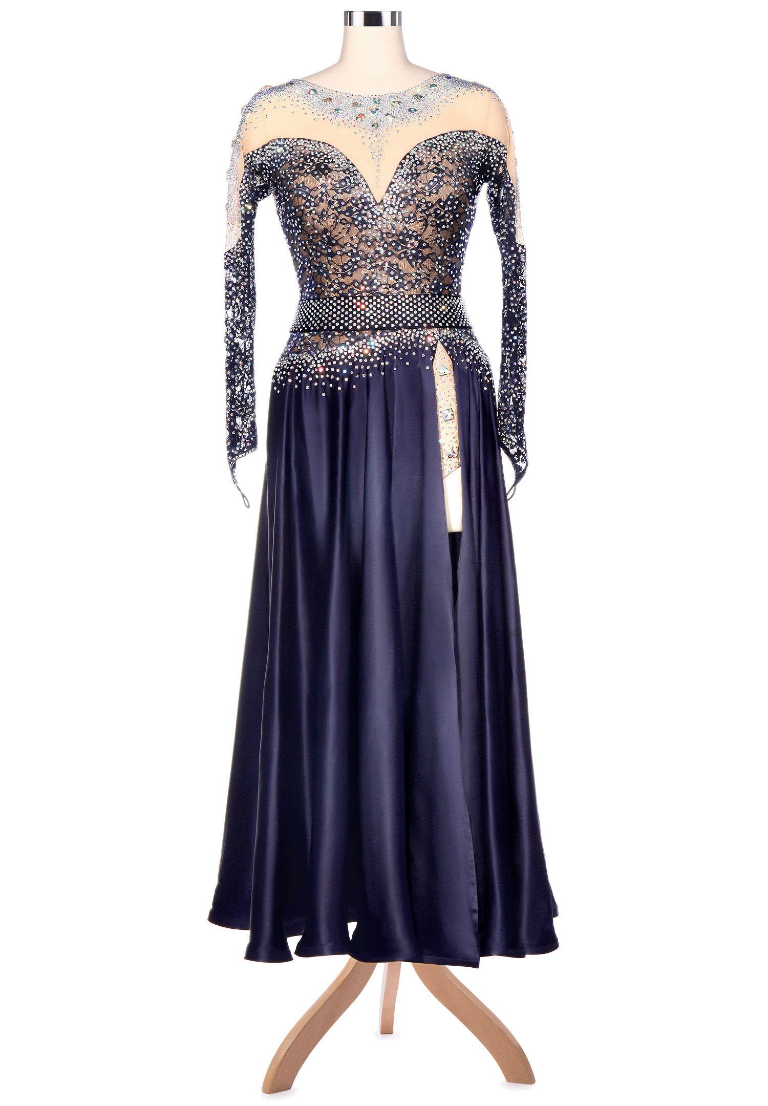 7b62cde25cf0 Sweetheart Sparkle Side Split American Smooth Dance Dress A5206 Ballroom  Gowns, Side Split, Ballrooms