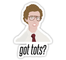 Napoleon Dynamite Stickers Hydroflask Stickers Funny Stickers Bubble Stickers