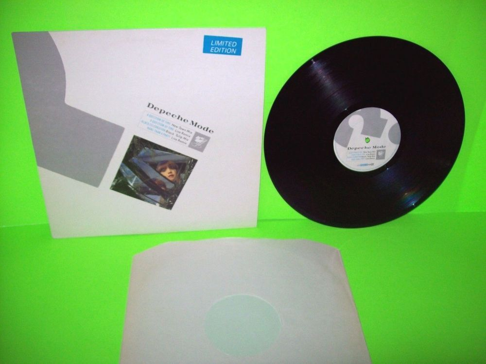 Depeche Mode A Question Of Time Limited Edition Vinyl 12 Ep Record Uk Nm Electronicasynthpop This Or That Questions Synth Pop