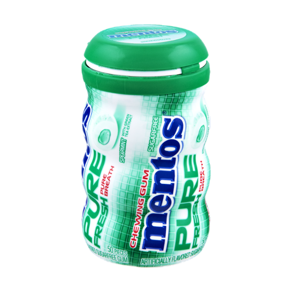 I'm learning all about Mentos Pure Fresh Spearmint Sugar Free Chewing Gum - 50 CT at @Influenster!