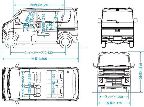 Suzuki Every Wagon | micro / tiny / city car / motocoupé | Pinterest ...