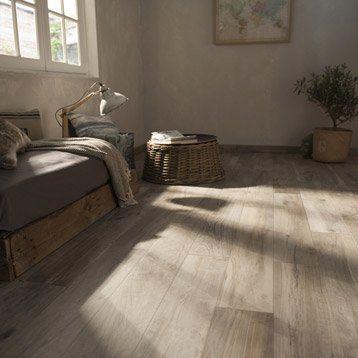 Carrelage sol et mur grege effet bois Elbe l.15 x L.100 cm | Maison ...