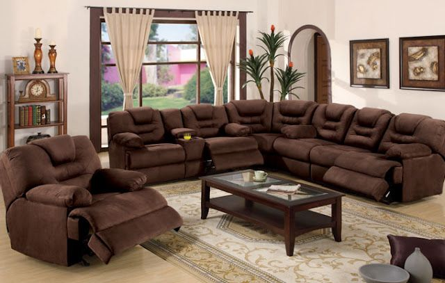 Best Oh Yeah Sectional Sofa With Recliner Comfortable 640 x 480