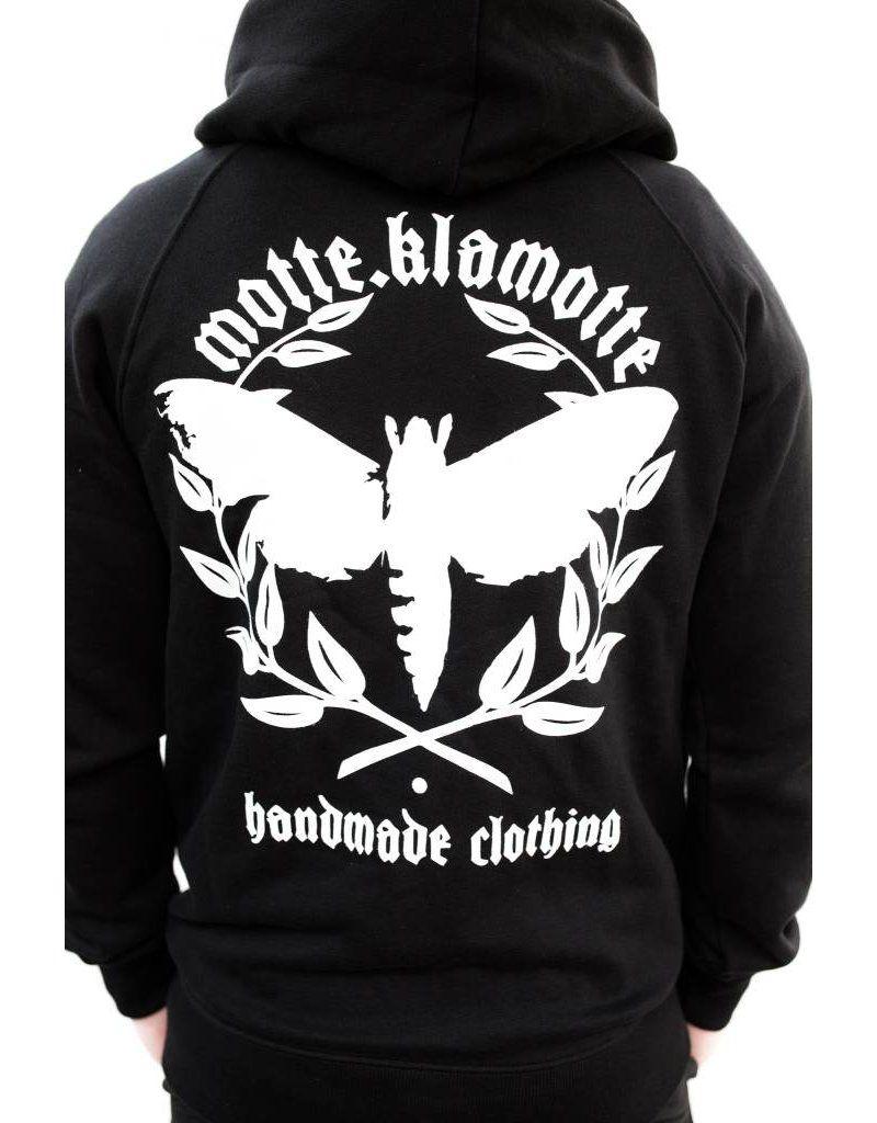 Motte Classic Zipper Motte Kleidung Jeansjacke