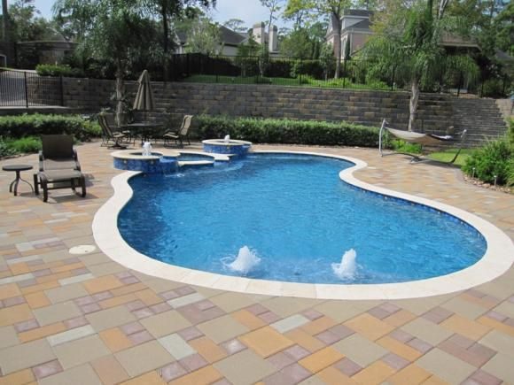 Wonderful Pool Finish Ideas For You To Copy: Pools With Pacific Blue Hydrazzo Finish