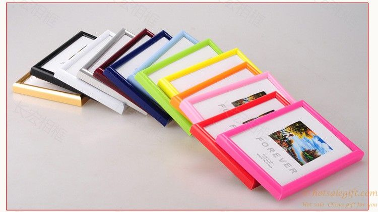 Creative Promotions Pvc Plastic Photo Frame Oem Production Frame