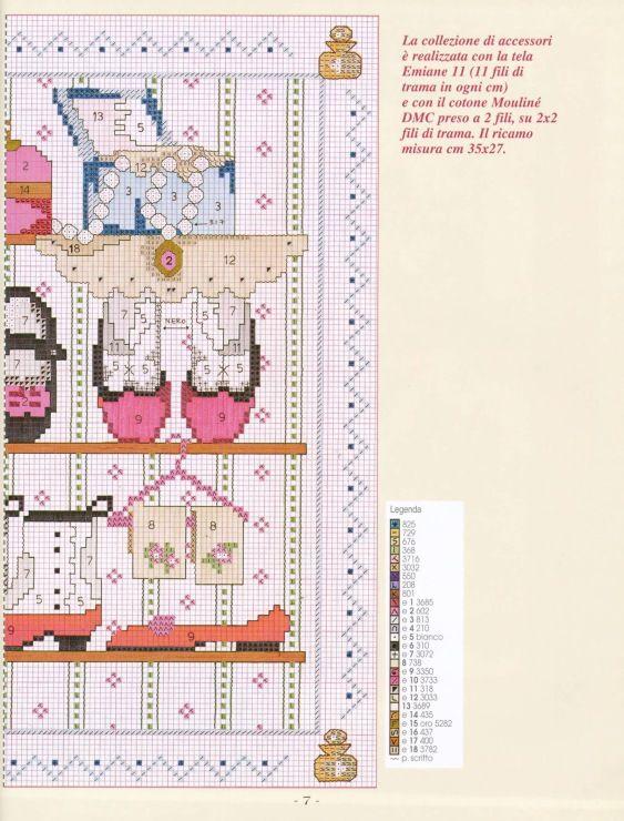 Accessoires 2 | Zapatos | Pinterest | Punto de cruz, Puntos y Bordado