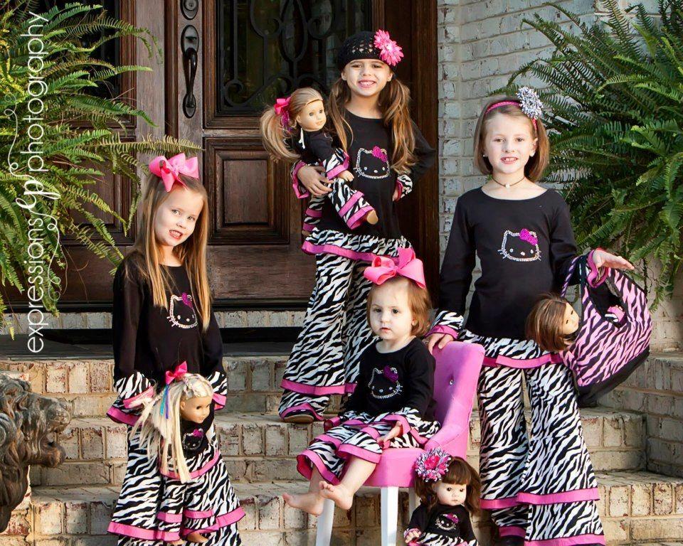 da125f2c70ee6 Fabulous girls clothing, American Girl doll matching outfits ...