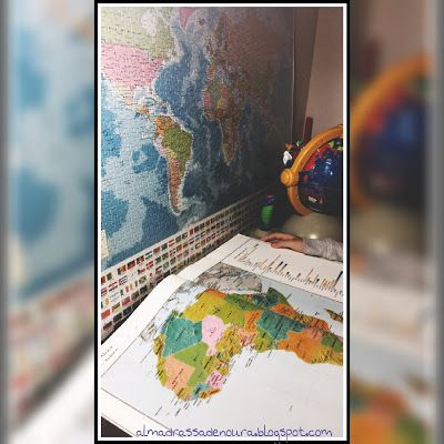 Madrassatu Ummu Yumna: Unidad didáctica sobre los continentes y los océan...