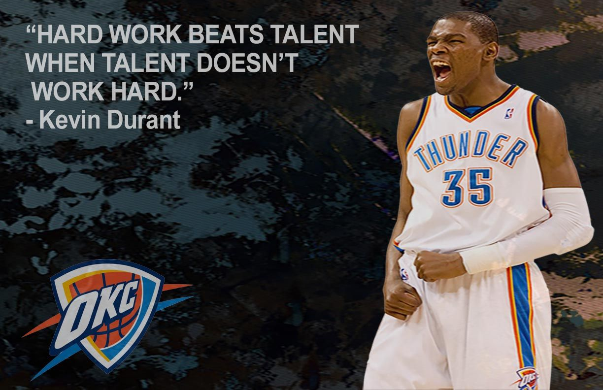 Kevin Durant Quote Kevin Durant Quote Poster  My Digital Design Work  Pinterest